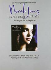 "Norah Jones ""Come Away with Me"": Arranged for Solo Piano by  