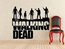 Walking Dead Wall Decal Zombie Movie Vinyl Sticker Horror Art Decor Mural (361z)
