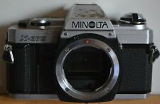 Minolta X-370 35mm SLR Film Camera Body only. Used good condition. No lens