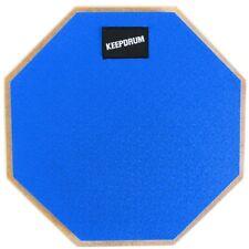 Keepdrum DP-BL Drum Practice Pad Blau Übungspad