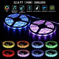 1-10m 3528/5050 LED Stripe RGB Leiste Streifen Mehrfarbig Leuchte Lichterkette/