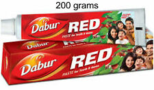 6 TUBES!  Dabur 200grams Each Red Herbal ToothPaste USA SELLER FAST SHIPPING