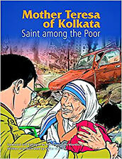 Mother Teresa of Calcutta (Kolkata) Graphic Novel Child's Book NEW Catholic