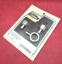 NEW COLONY MACHINE / Gas Tank Fitting Kit / Chrome / 7807-3