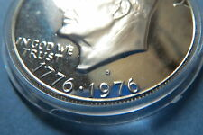 """1976-S  """"S-PROOF"""" ISSUE, U.S.1976S BICENTENNIAL EISENHOWER LARGE DOLLAR, S-PROOF"""