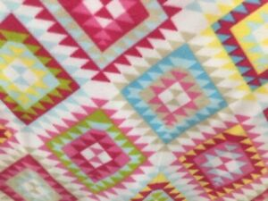 """Pink Rug Carpet Native American American Indian Navaho Fabric, 60""""wide, sold BTY"""