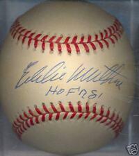 Eddie Mathews HOF 78 Atlanta Braves ONL HOF Signed Ball
