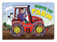Move it! Farm     Hardback Board Book  NEW