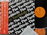 Ex+! YARDBIRDS The Yardbirds-Memorial Album JAPAN 2LP POSTER+OBI YX-2051~2 Beck