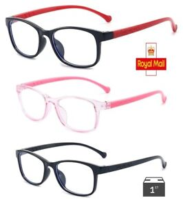 Gaming Glasses Computer Anti Fatigue Blue Light Blocking Filter Kids Protection
