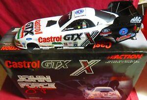 1/24 ACTION 2001 MUSTANG FUNNY CAR, CASTROL GTX--10X CHAMPION, JOHN FORCE