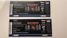 2 x Iron Maiden tickets in Hannover June 10th 2018