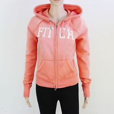 A&F Womens Size M Abercrombie Flesh Pink Zip Up Hoodie