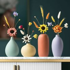 Nordic Home Smooth Ceramic Pottery Flower Pot Mini Vase Wedding Home Ornaments