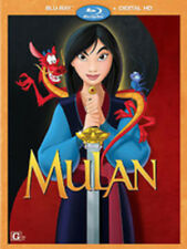Mulan Blu-ray & DVD Disney Movie Club Exclusive