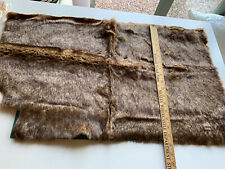 Faux fur fabric for Teddy bear making LOT 26