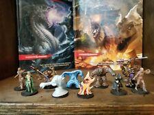 Dungeons & Dragons pathfinder miniature lot pathfinder fantasy painted 10x