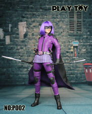 *NIB* Play Toy 1/6 Purple Girl Action Figure P002 *US Seller* Kick Ass Hit Girl