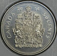 CANADA 50 CENTS 2014 Logo in MS