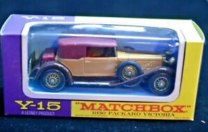 Matchbox Lesney Models of Yesteryear Y-15 1930 Packard Victoria 1:48