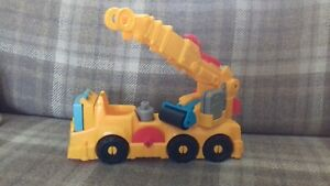 Buster the Talking Power Crane Playset for Use with Playdoh.