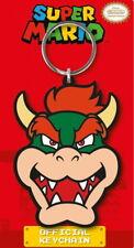 Bowser Head - Super Mario - Nintendo - Gummi Schlüsselanhänger