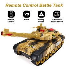 RC Panzer ferngesteuerter Tank Kinder Geschenk LED Schuss- und Sound-Funktion Q