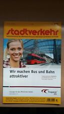 ► STADTVERKEHR (3/2011) - Tram Bern West, Mulhouse, S-Bahn Nürnberg, Stuttgart