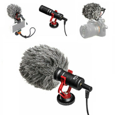 Camera Rig Microphone Pour Ghost matériel de chasse 3.5 mm Streaming Film Video
