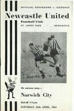 Newcastle United Football Programmes