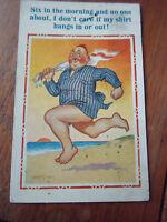Vintage Seaside Postcard -  XL Series No 2248V Franked & Stamped Blackpool 1936