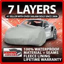 7 Layer Car Cover Indoor Outdoor Waterproof Breathable Layers Fleece Lining 7483