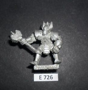 Warhammer Citadel Metal CHAOS WARRIOR CEDRIC HAMMERHAND 1988 E 726
