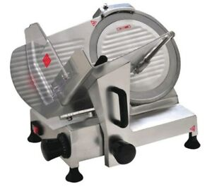 """Commercial Electric Meat Food Slicer Deli Butcher 300mm 12"""" Blade Cheese"""