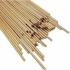 SUPER 6 7468  1.6MM MULTI PURPOSE SILLICON BRONZE GAS BRAZING RODS x 10 (500mm)