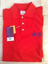 DOVO Solingen german cotton red polo shirt XL