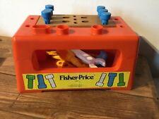 Vintage 1980  Fisher Price  workbench #927