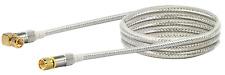 Antennen Anschlusskabel SAT-Winkelanschlusskabel 90 Grad F-Stecker 110dB 1,5 m