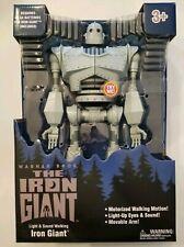Warner Brothers Iron Giant Figure Walking Light Up Eyes -Sound Walmart Exclusive