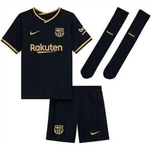 2020 Barcelona Away Messi 10 Kids Kit
