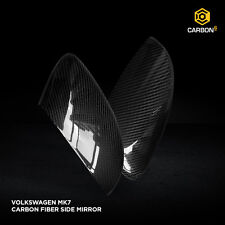 Carbon Fiber Side Mirror Skin Cover for VW Golf MK7 by Carbon6