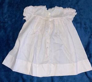 Vintage Feltman Bros Brothers Baby Light Pink Heirloom Dress Lot E