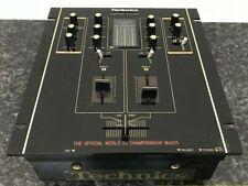 Technics SH-DJ1200 Black Audio Mixer Feders.2 pcs included ③