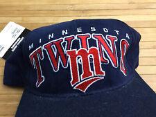 Vintage Minnesota Twins Deadstock Starter Snapback Hat Cap MLB
