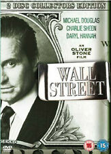 Wall Street - 2 DVD COLLECTORS EDITION - BRAND NEW SEALED MICHAEL DOUGLAS