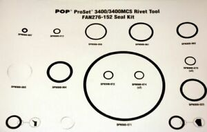 FAN239-175,  POP Tool Part, Proset 1600/1600MCS Seal Kit(1 PK)