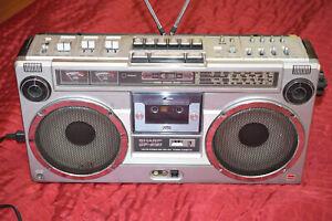 SHARP GF-9191X Radiorecorder Stereo Kofferradio Ghettoblaster Boombox tragbar