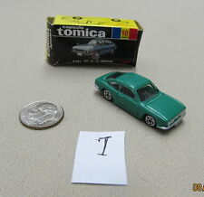 Tomica Capsule Pocket Cars #10 Isuzu 1800 XE Coupe Green MIB US Seller