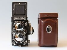 Rolleiflex 2.8E Planar with Meter TLR Film Camera & Case Worldwide Shipping