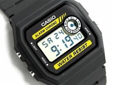 Casio F-94WA-9 Classic Retro Digital WR Stopwatch Black Watch F-94WA-9DG